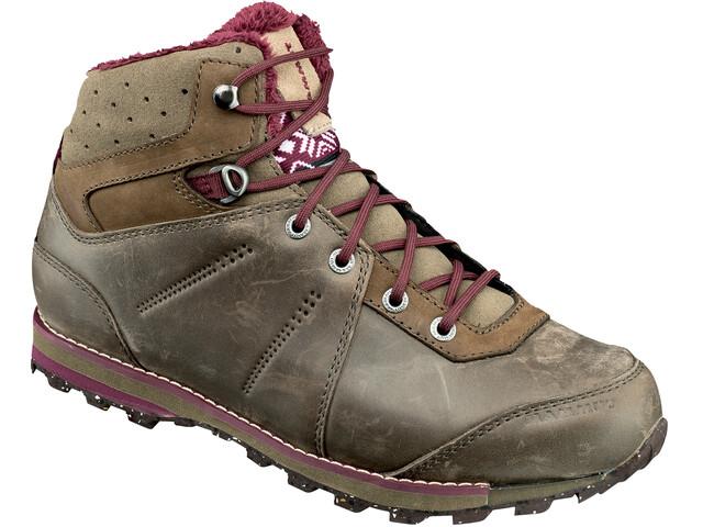 Mammut Chamuera Mid WP Shoes Women dark flint-merlot